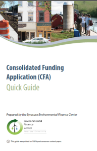 Consolidated Funding Application Cover